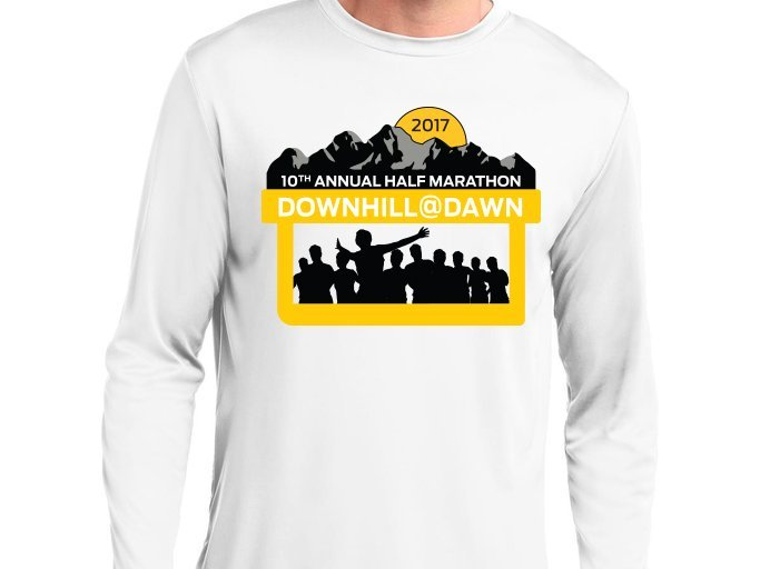 Re-brand - DownHill@Dawn Runner Shirt